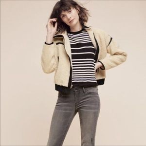 Anthropologie by Postmark Cotton Striped Sweater